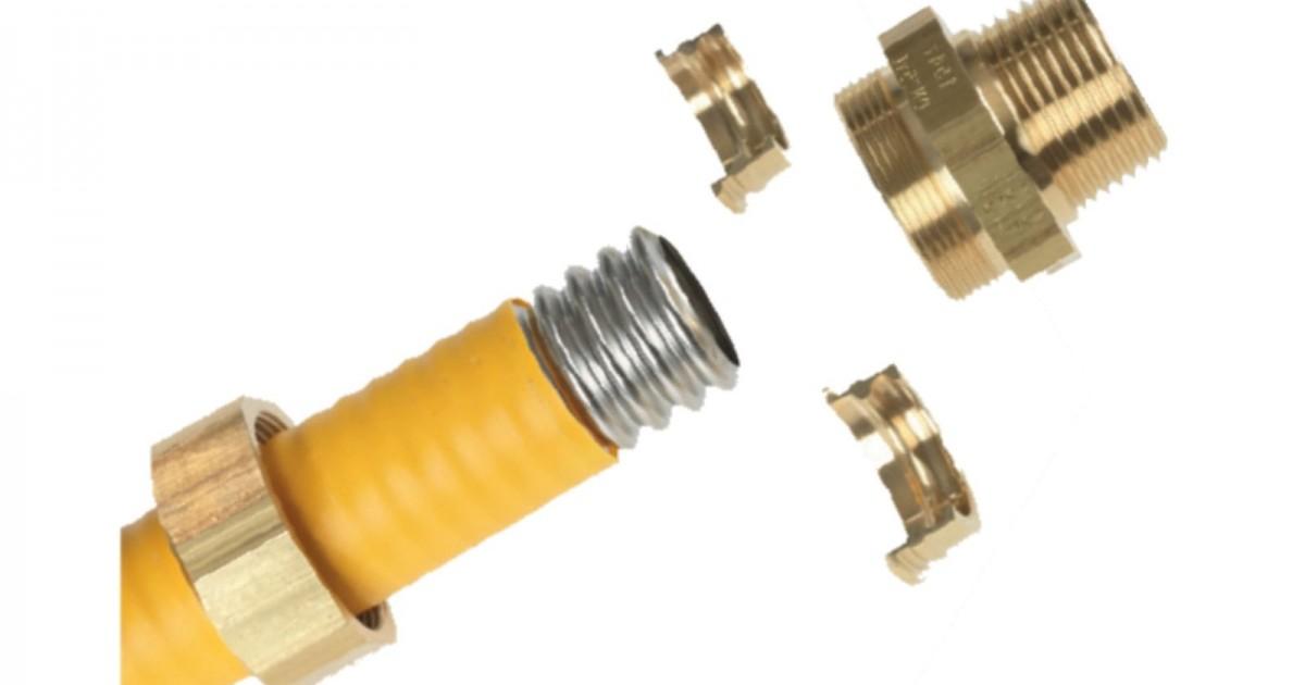 Неръждаеми гъвкави тръби за газ