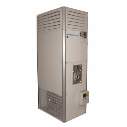 Вертикален газов генератор за горещ въздух - 34 kW