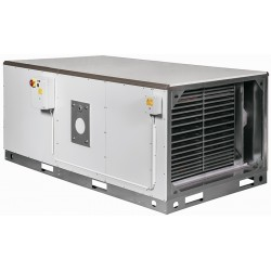 Хоризонтален газов генератор за горещ въздух - 34 kW