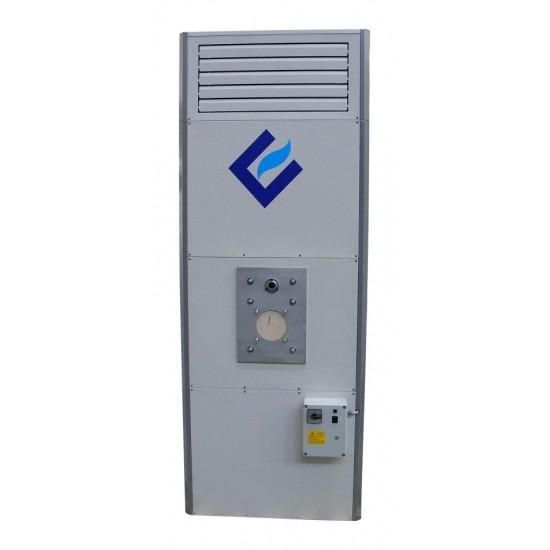Вертикален газов генератор за горещ въздух - 69 kW