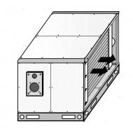 Боядисана кутия от двоен панел за модели 580-650