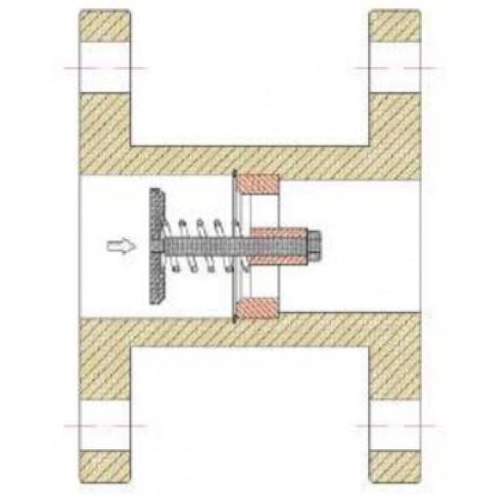 Клапан за превишен дебит (Скоростен отсекател) DN 150
