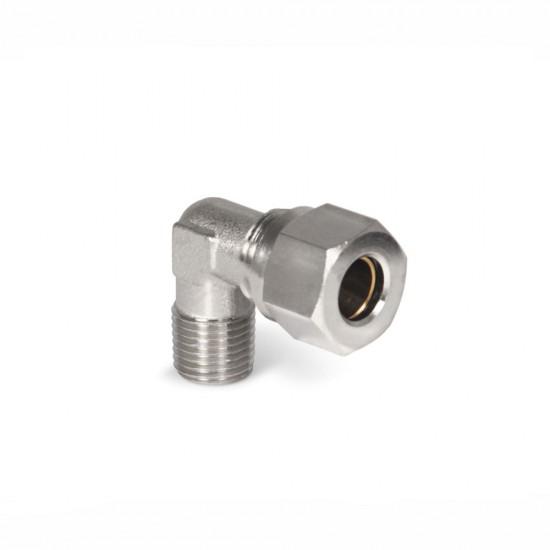 """L-образен преход за импулсна линия 1/8"""" x ф 8 mm"""