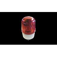Сигнална лампа с вграден зумер - червена