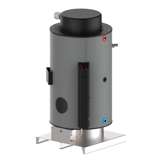 Газов бойлер NG - 560 л - 23kW