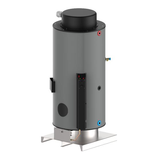 Газов бойлер LPG - 740 л - 23kW