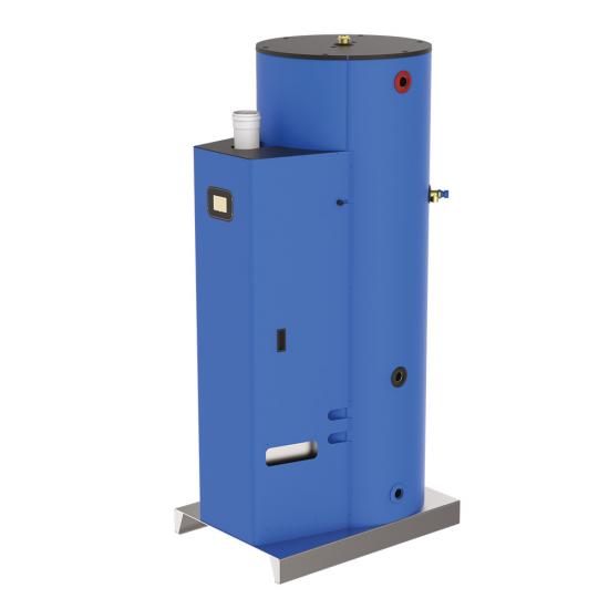 Кондензен газов бойлер NG - 500 л - 25kW