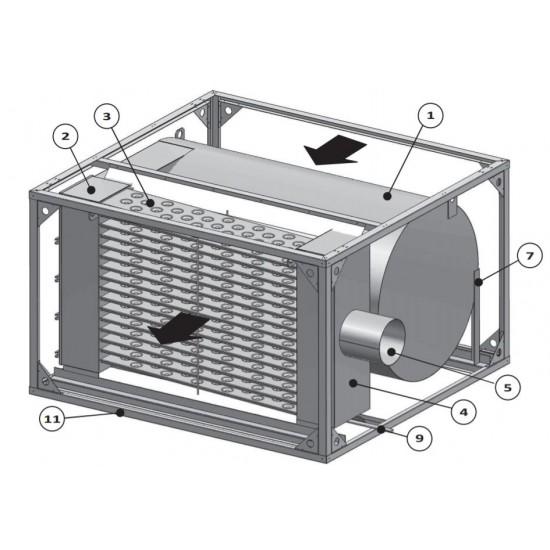 Газова секция с възможност за конедзен режим - 407 kW