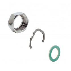 """Комплект фитинги за гъвкава тръба (гайка, уплътнение и пръстен) - 1/2"""""""