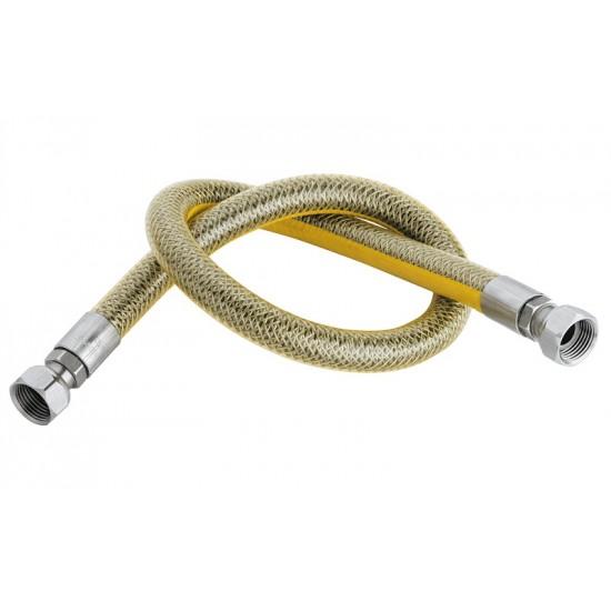"""Гъвкава връзка за газ 1/2"""" по стандарт EN 14800 L=500 mm"""