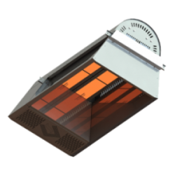 Газов инфрачервен керамичен излъчвател ARENA - 23.3 kW