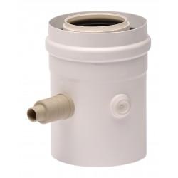 Елемент с пробка 60/100 mm,  L=145 mm, хоризонтален и вертикален монтаж
