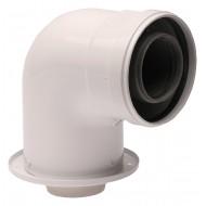 Коляно адаптор 60/100 mm - Biasi, Ferroli, Fondital, Nova Florida, Savio