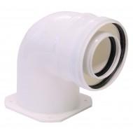 Коляно адаптор 60/100 mm - Immergas