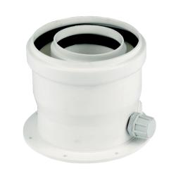 Вертикален прав адаптор 80/125 mm - Bosch
