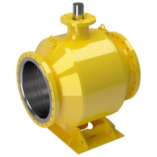 Стоманен сферичен кран за газ на фланци - DN125