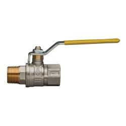 """Сферичен кран за газ с права ръкохватка RB, M/Ж - 1/2"""""""