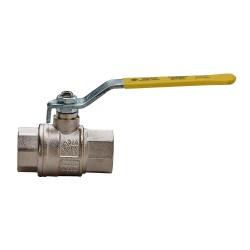 """Сферичен кран за газ с права ръкохватка RB, Ж/Ж - 1/2"""""""