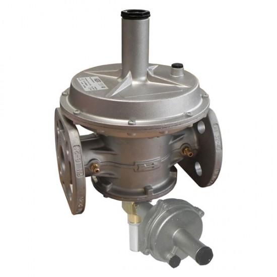 Стабилизатор с вграден филтър и отсекател по макс. налягане (OPSO) - DN40. Диапазон 200 - 450 mbar