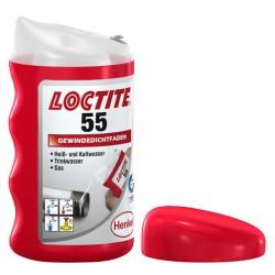 Loctite 55 - Уплътнителна корда за резбови съединения